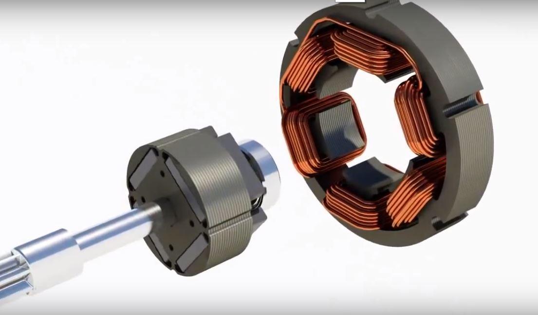 Устройство бесколлекторного электродвигателя постоянного тока