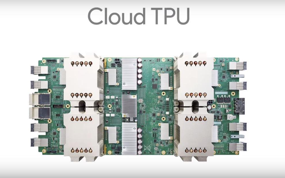 Google переводит машинное обучение аппаратного обеспечения в облако
