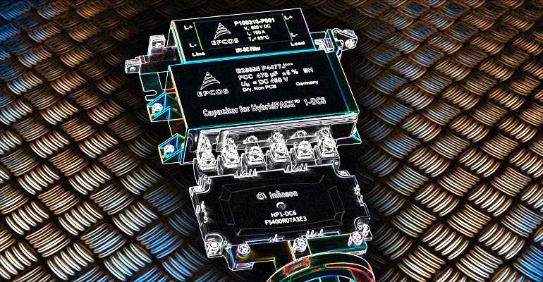 Интеграция фильтров электромагнитной совместимости и силовых преобразователей в трансмиссию современных электромобилей