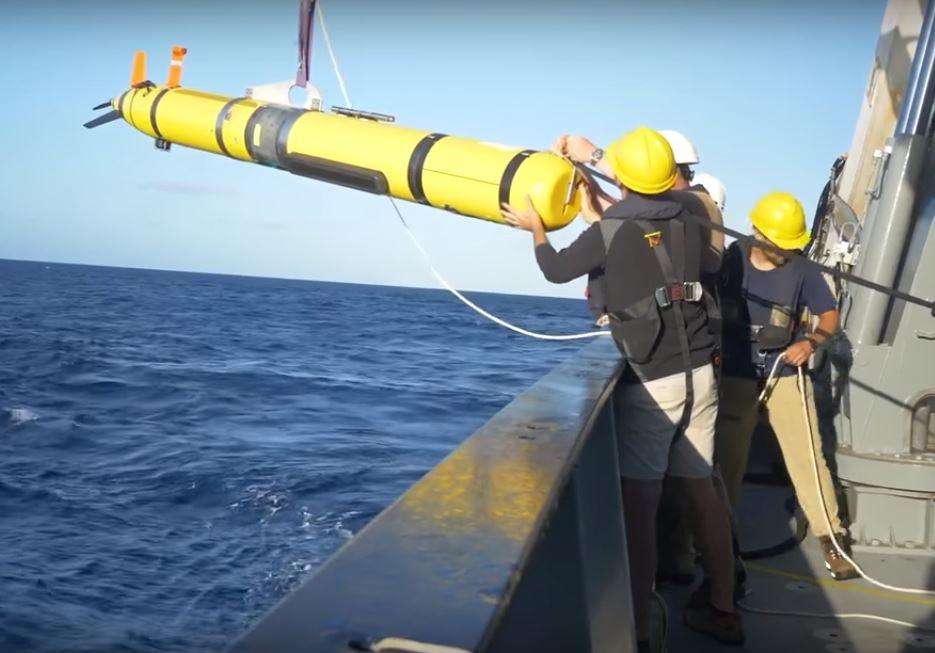 Экспедиция Фалькор будет использовать специальные автономные подводные роботы для исследования водоворотов на расстоянии до 100 км