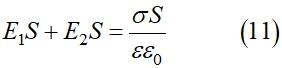 Применив теорему Остроградского-Гаусса