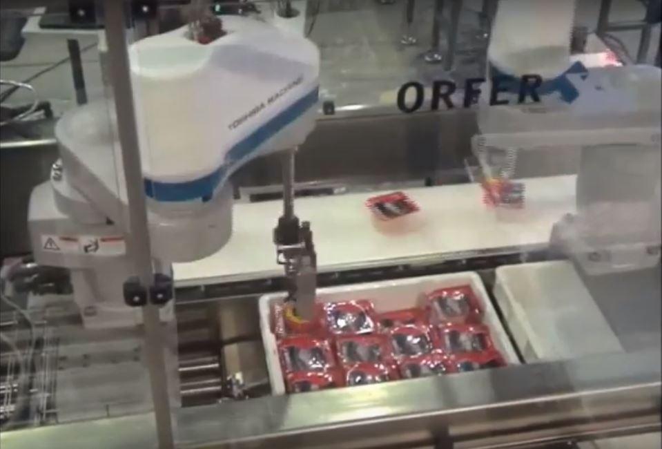 Минимизация габаритов роботов для упаковочного производства