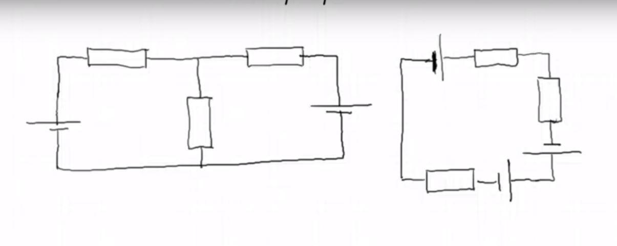 Уравнения Кирхгофа для электрических цепей