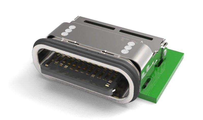 Водонепроницаемые разъемы USB Type-C обеспечивают большую мощность, более высокие скорости передачи данных и защиту окружающей среды для потребительских товаров