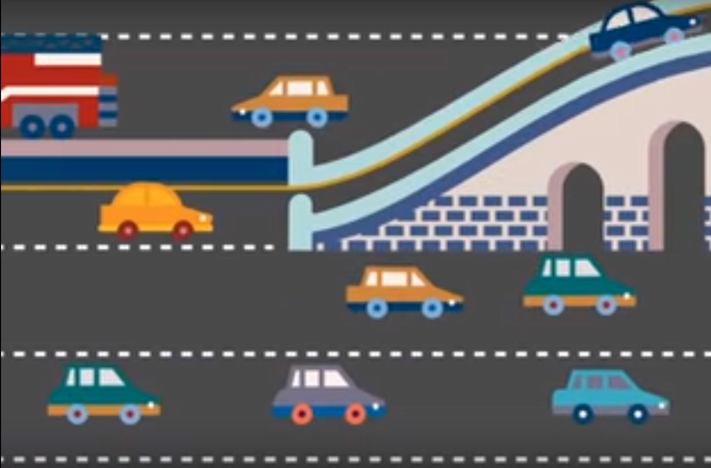 Создание сети подключенных и автономных автомобилей позволит значительно повысить пропускную способность и безопасность современных авто.
