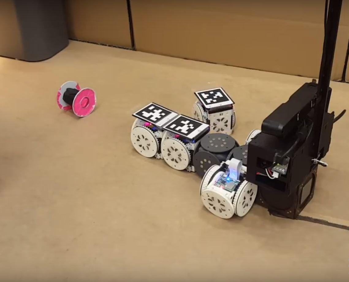 Модульный робот с изменением формы - это больше, чем куча запчастей