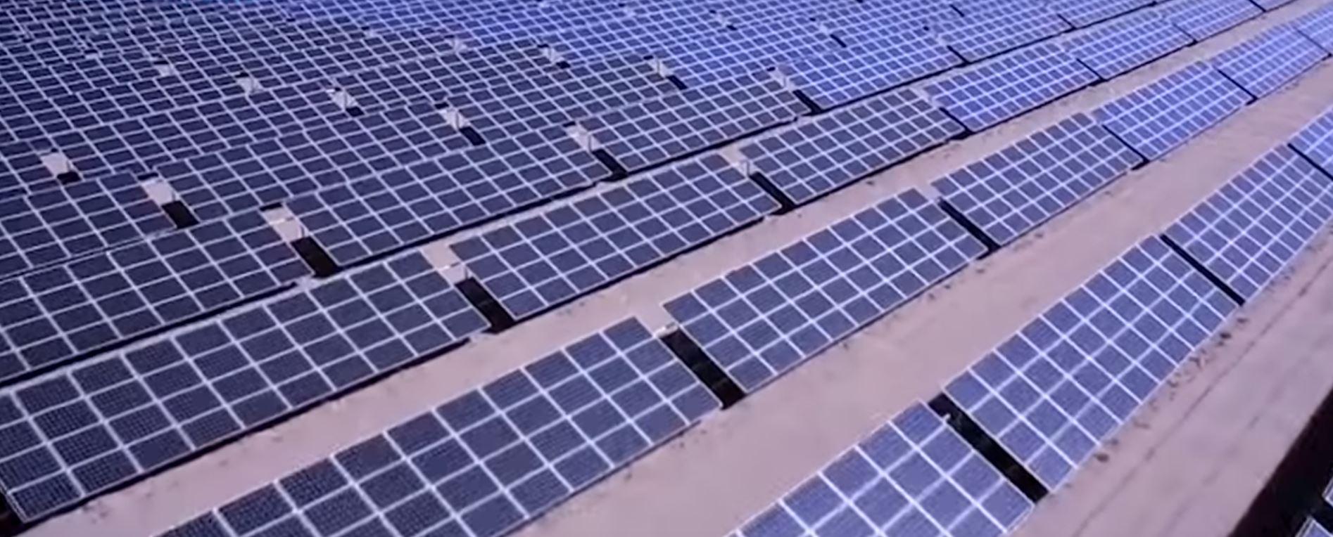 Огромнейшие китайские солнечные электростанции