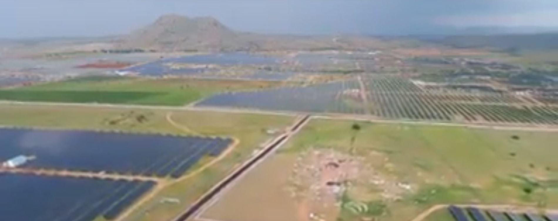 Солнечная электростанция индийского технического центра Карнатака