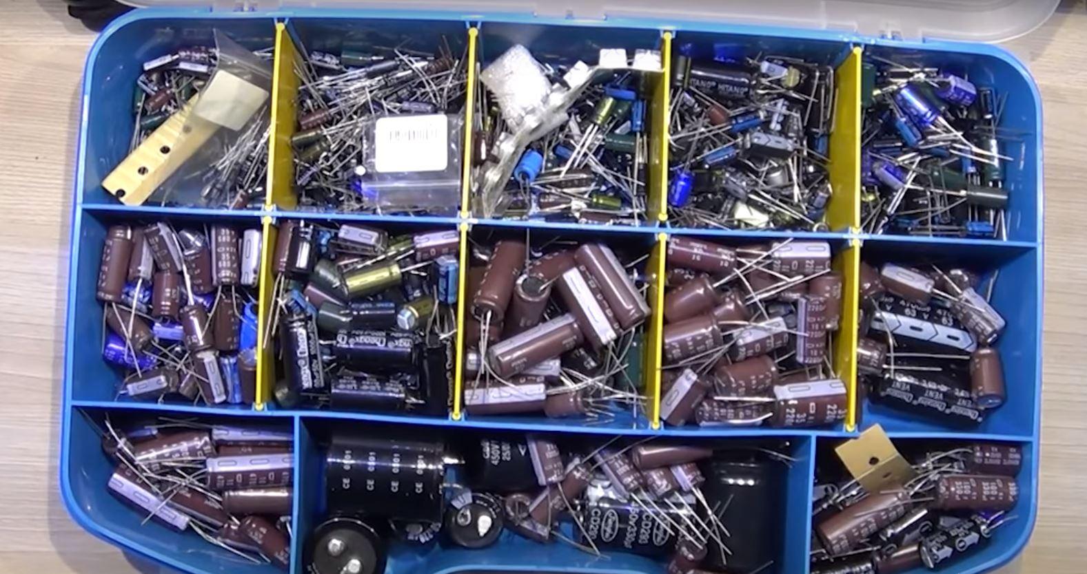 Шунтирующие конденсаторы для защиты электронных микросхем от электрических шумов