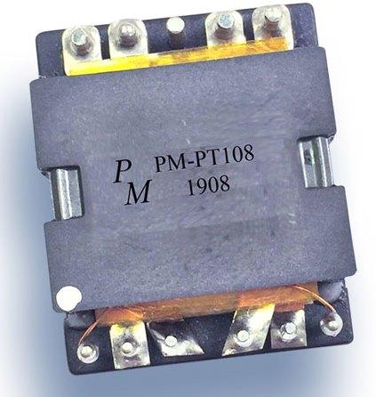 Плоский планарный трансформатор, оптимизированный для переключения источников питания, работающих на частоте до 700 кГц