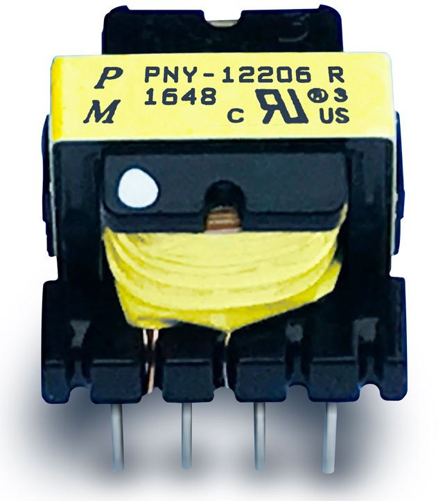 Пример катушечного и основного трансформатора для импульсного источника питания 100 кГц
