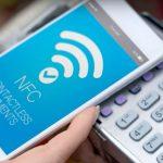 Использование системы NFC для бесконтактной оплаты используя банковскую карту или смартфон