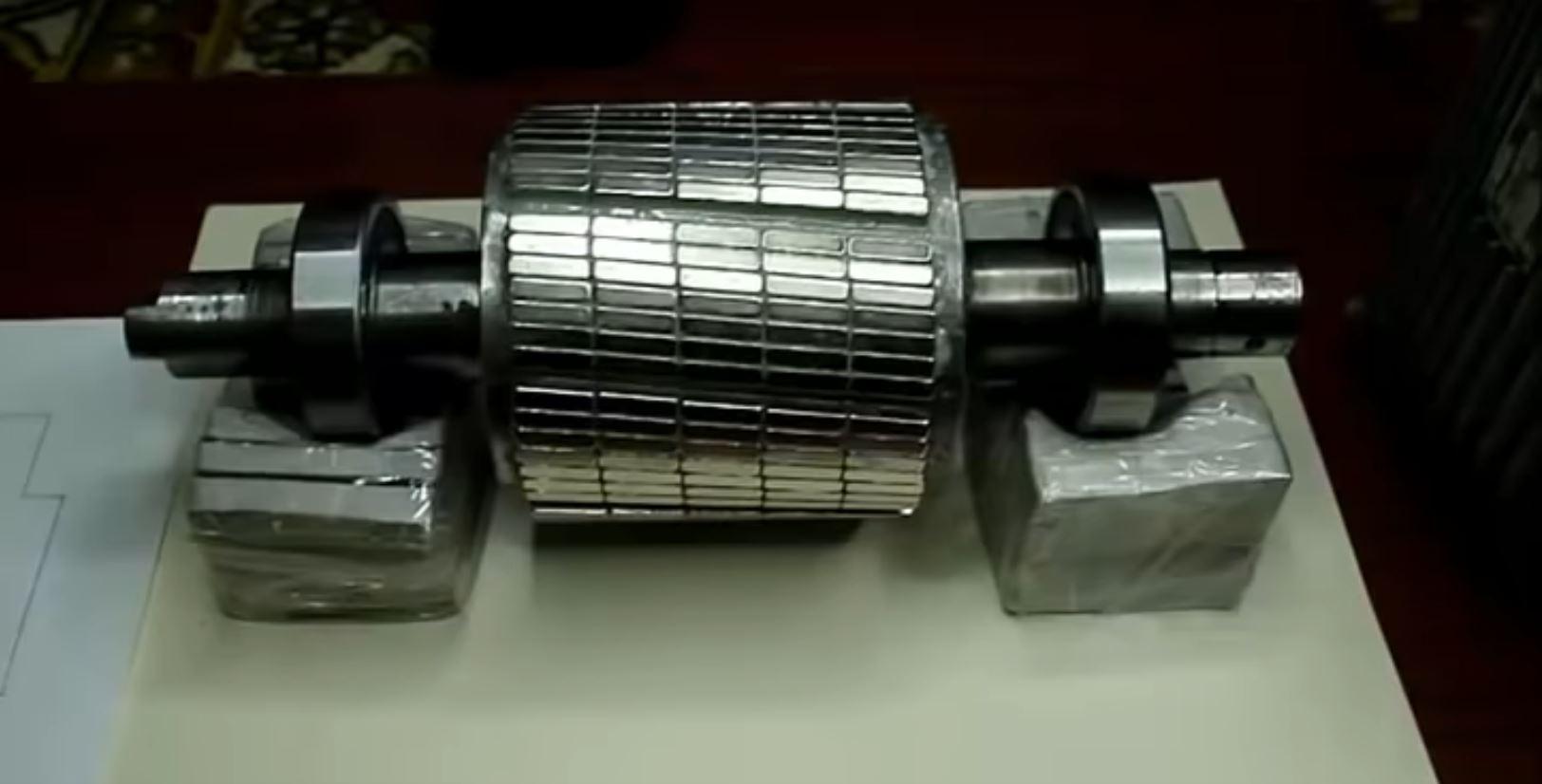 Недорогая альтернатива электродвигателям с редкоземельными постоянными магнитами