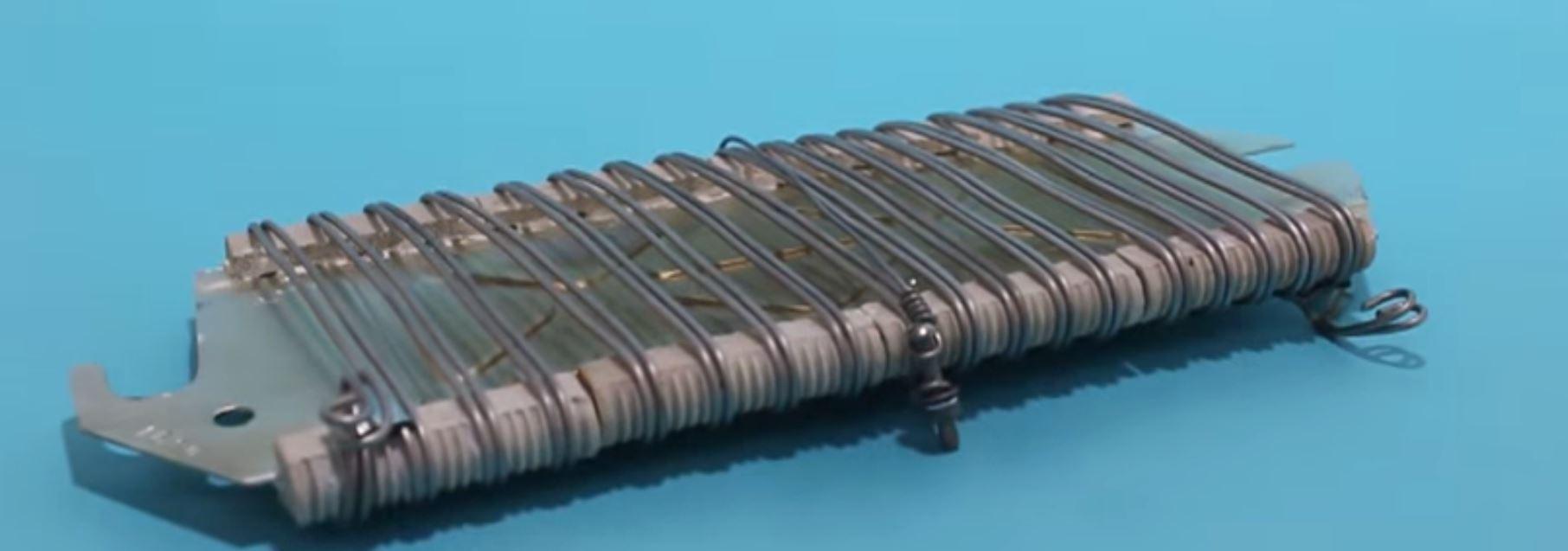 Резисторы пусковых и пускорегулирующих реостатов
