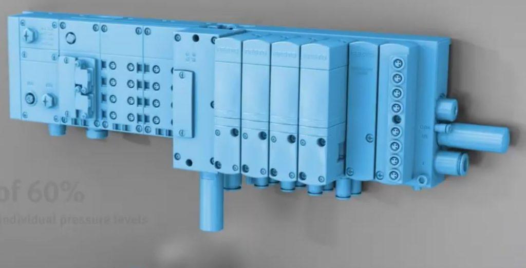 Концепция движущейся клеммы в этой системе опирается на пьезоклапаны для управления главными клапанами, обеспечивая пропорциональное пилотное управление с минимальным потреблением энергии