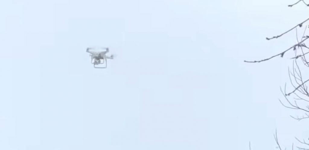 Нужно ли освобождать воздушное пространство для дронов доставки