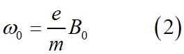 Связь между резонансной частотой и постоянным полем в Гауссовой системе