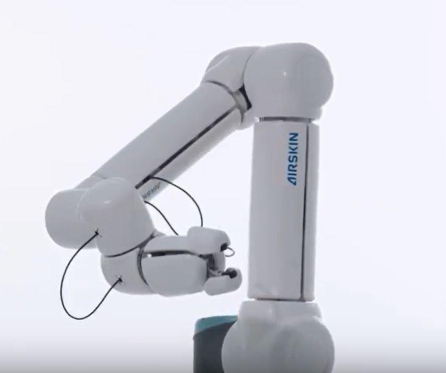 Подушки AirSkin от Blue Danube Robotics могут заставить робота прекратить движение при контакте с человеком или объектом