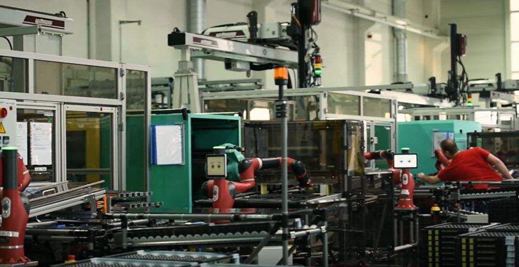 Rethink Robotics 'Sawyer коллаборативный робот разработанный с нуля