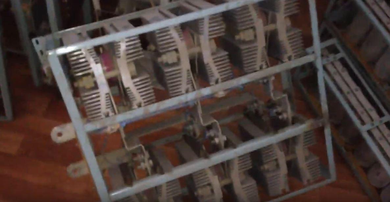 Тиристорный элемент как коммутатор однофазной силовой цепи