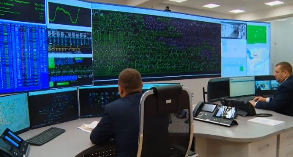 Диспетчерский пункт управления с использованием систем SCADA