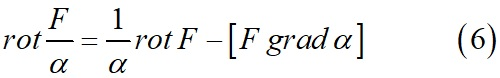 Плотность связанных токов как функция намагниченности