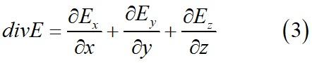 Дивергенция в декартовой системе координат