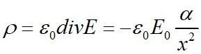 Решение примера 1 по теореме Гаусса