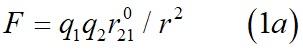 Закон Кулона в Гауссовой системе