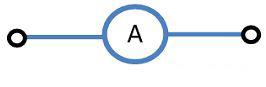 Обозначение амперметра на электрических схемах