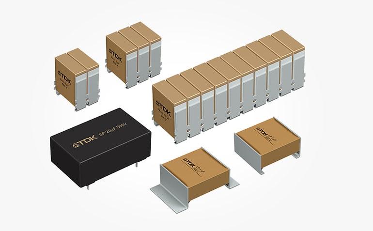 В дополнение к специальному диэлектрику керамические конденсаторы TDK CeraLink имеют плотно сложенные конфигурации для снижения индуктивности и эквивалентного последовательного сопротивления (ESR)