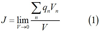 Вектор плотности тока или плотность тока формула