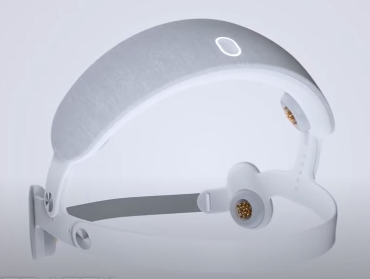Специальный шлем позволяет улучшить качество сна