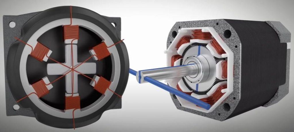 Шаговые электродвигатели внедряются в множество современных механизмов