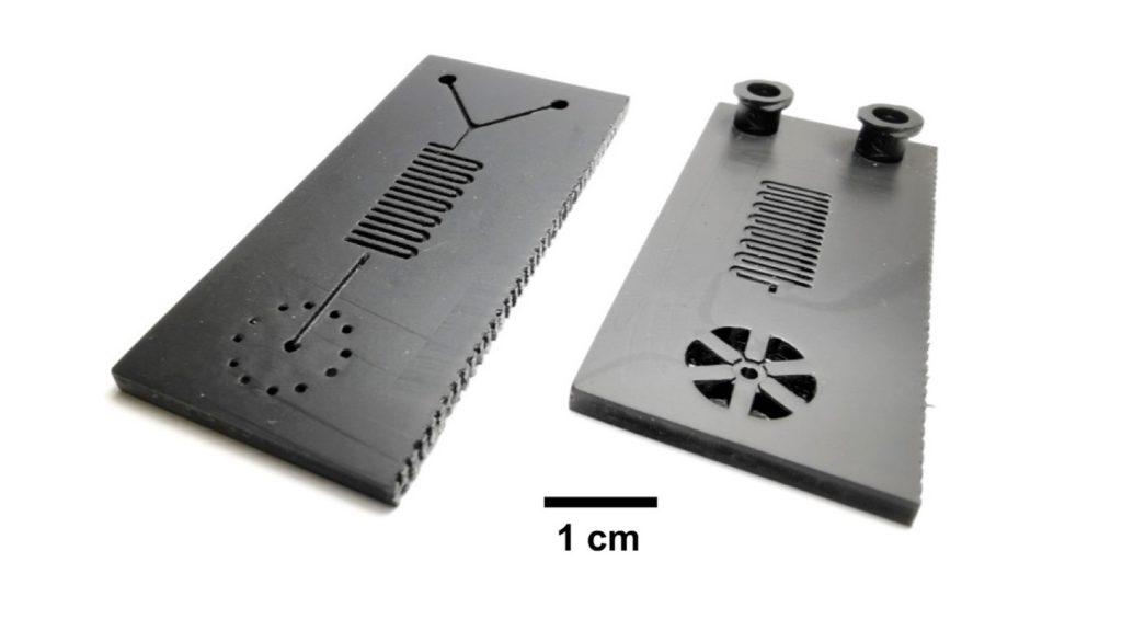 Ученые из Иллинойса разработали микрофлюидный картридж способный делать тест на коронавирус всего за 30 мин и распечатали его на 3D принтере