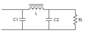 Примитивный П образный фильтр схема