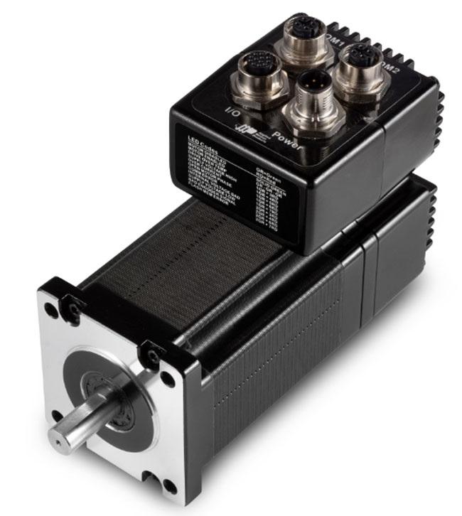 Абсолютные энкодеры доступны для интегрированных двигателей StepSERVO TSM23 и TXM24 от Applied Motion Products