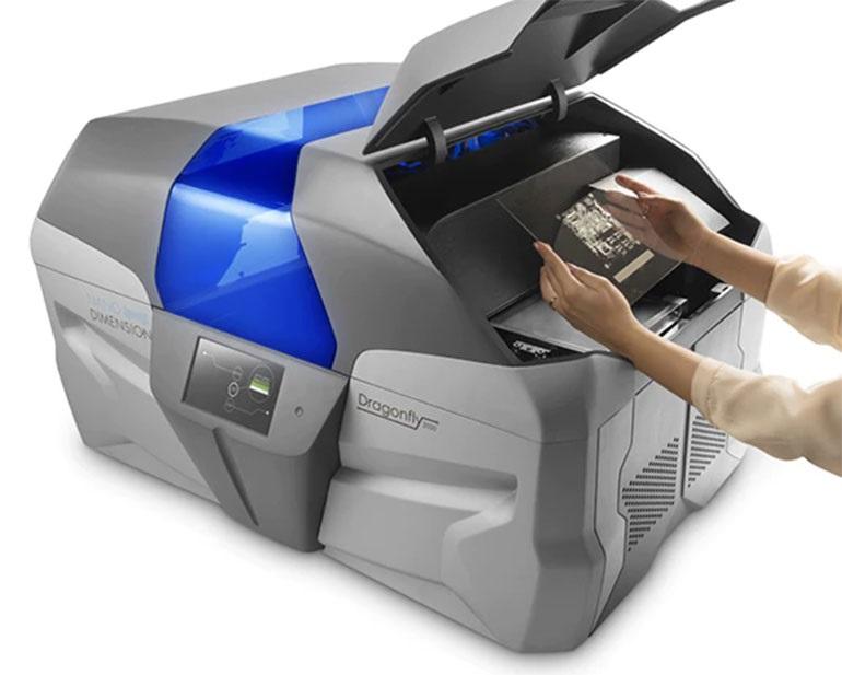 3D-принтер DragonFly от Nano Dimension предлагает еще один способ создания собственных печатных плат