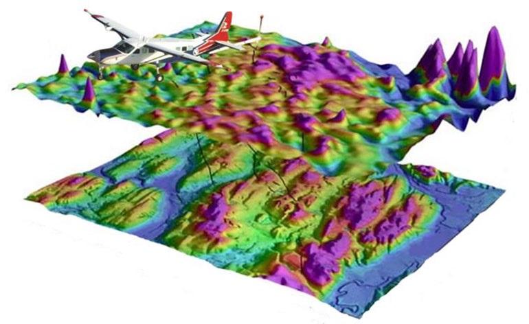 Целью первого этапа проекта является сбор исходных данных об аномалиях магнитного поля с высоким разрешением, которые можно использовать для создания точной трехмерной карты