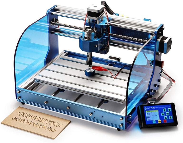 Станок с ЧПУ SainSmart Genmitsu может создавать печатную плату из куска меди