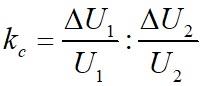 Коэффициент стабилизации стабилизатора напряжения формула