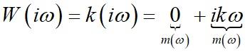 Аналитическое выражение вектора амплитудо-фазовой характеристики АФХ для идеального дифференцирующего звена формула