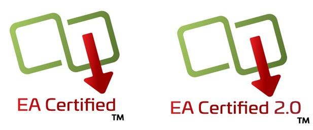 Логотипы PoE сертифицированные Ethernet Alliance
