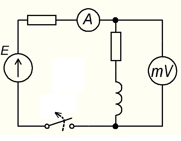 Схема для измерения сопротивления обмотки трансформатора