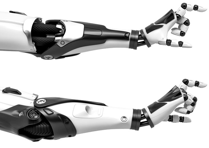 3D-представление робота манипулятора